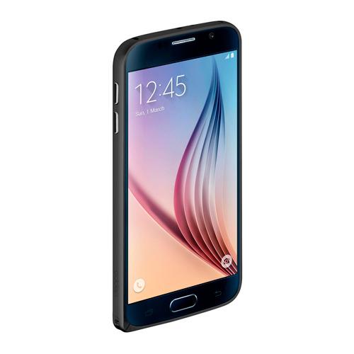 Бампер Deppa Alum для Samsung G920 Galaxy S6 и плёнка Black