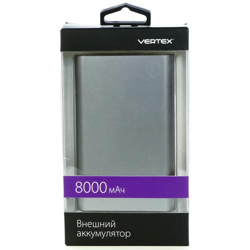 Внешний аккумулятор Vertex X'traLife 8000mAh Silver фото