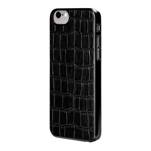 Накладка кожаная uBear iPhone 6 Cartel Case Black Crocodile