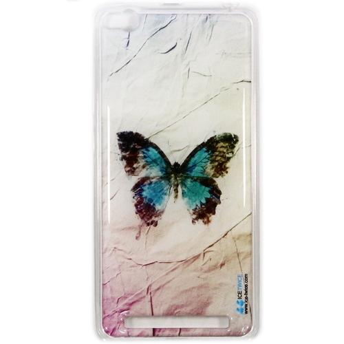 Накладка силиконовая IceTwice Xiaomi Redmi 3 Бабочка №1037