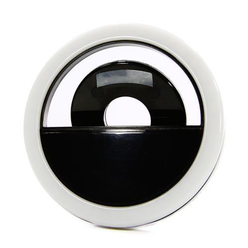 Вспышка для селфи Goodcom LED Ring 01 встр. АКБ Black