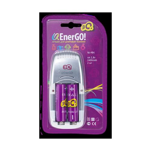 Зарядное устройство для батареек 3Q EnerGO C24 +2AA 2600mAh фото