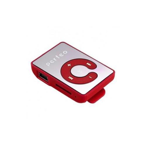 Плеер Mp3 Perfeo Music Clip Color VI-M003 Red