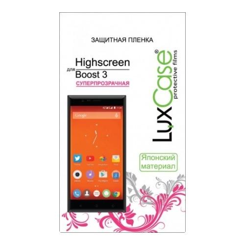 Защитная пленка LuxCase TPU (НА ВЕСЬ ЭКРАН) Highscreen Boost 3