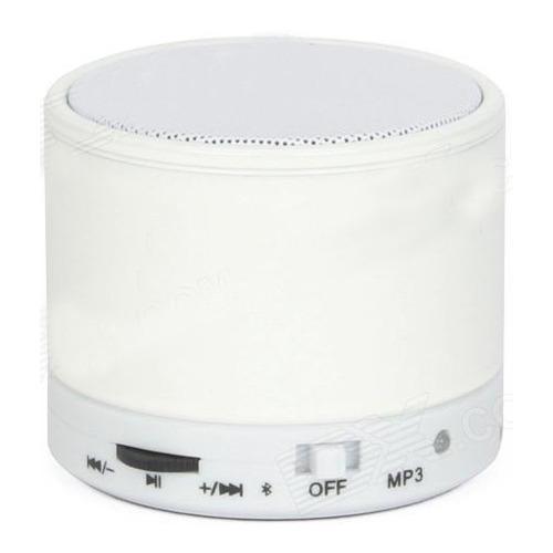 Колонка Musik S10 (microSD + Bluetooth) White