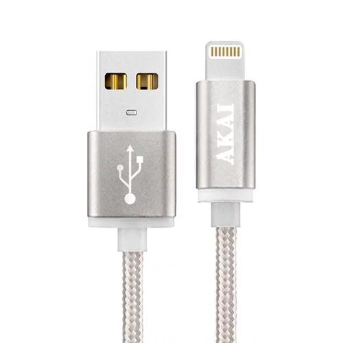 USB кабель Akai CE-604 8-pin 1m Silver