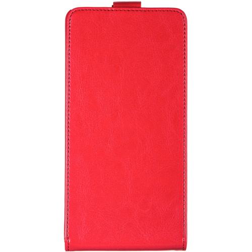 Чехол-флип skinBox Asus Zenfone 6 Red
