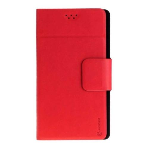 """Чехол-книжка Anycase Wallet Fold M универсальный (4.3""""-5.5"""") Red"""