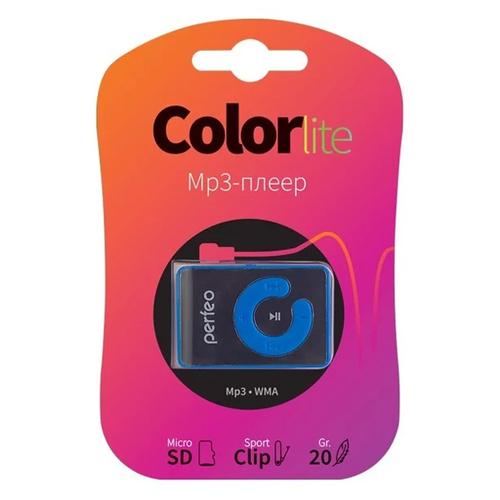 Плеер Mp3 Perfeo Color Lite Blue