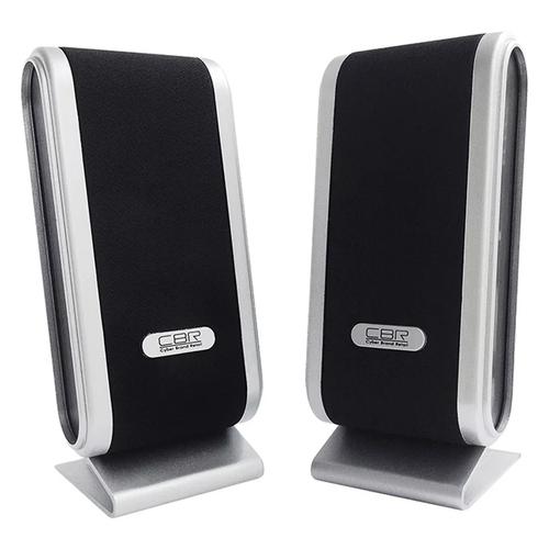 Колонки CBR CMS 299 2*3Вт 2.0 Black-Silver
