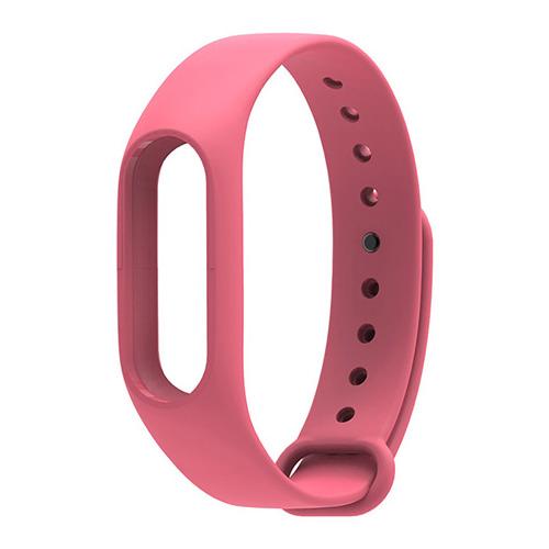 Ремешок для фитнес-браслета Xiaomi Mi Band 2 Pink