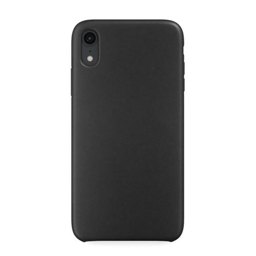 Накладка кожаная uBear Capital Leather Case iPhone XR Black