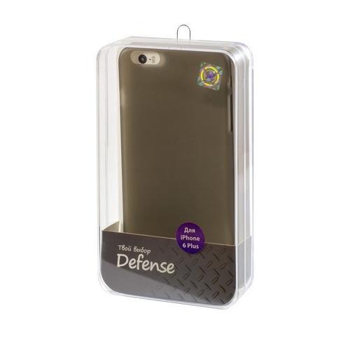 Накладка пластиковая Vertex iPhone 6 Plus Ultra Slim (CCI6PTB) Grey
