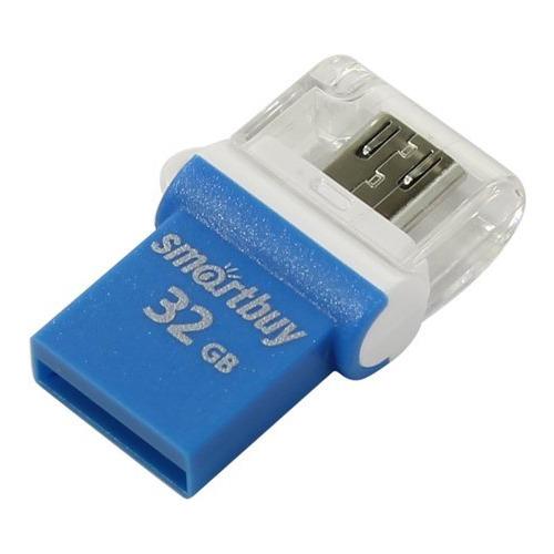 USB флешка Smartbuy на 32Гб Poko USB 2.0/micro USB