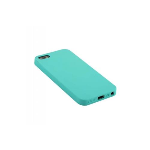 Накладка силиконовая Anycase iPhone 5/5S Matt Mint фото