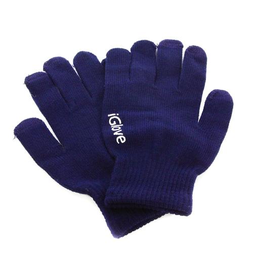 Перчатки iGlove для сенсорных устройств Dark Blue