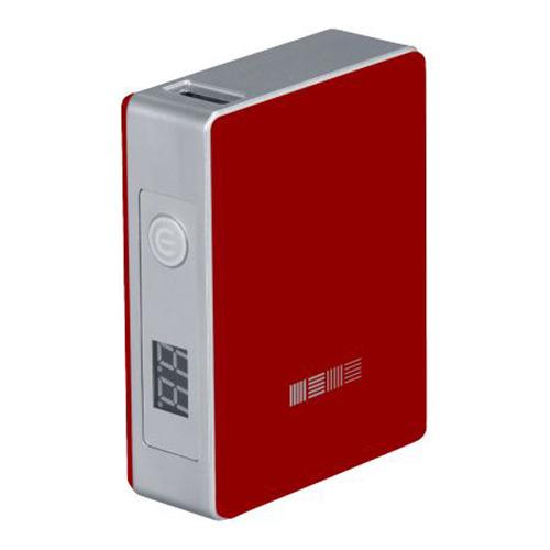 Внешний аккумулятор InterStep PB52001U 5200 mAh Red