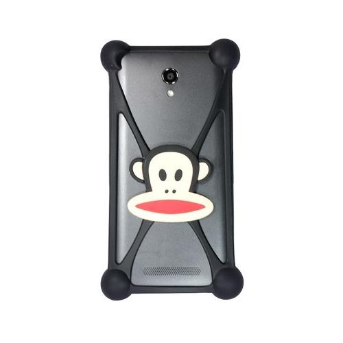 """Бампер Partner силиконовый универсальный 3.5-5.5"""" Monkey #7"""