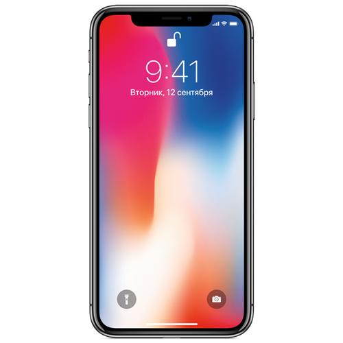 Телефон Apple iPhone X 256Gb Space Grey