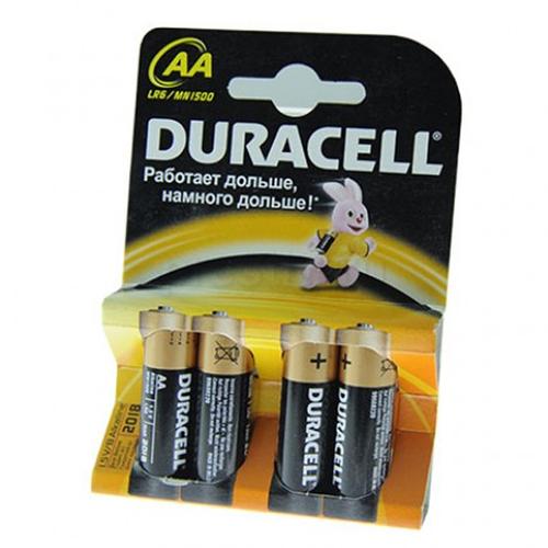 Батарея Duracell LR6 AA (блистер 4шт.)