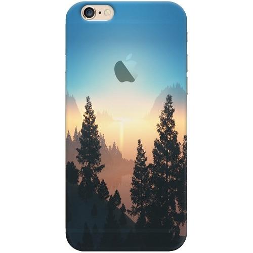 Накладка пластиковая Deppa Art Case iPhone 6/6S Nature Озеро