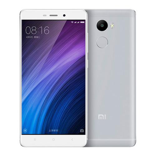 Телефон Xiaomi Redmi 4 16Gb, серебряный