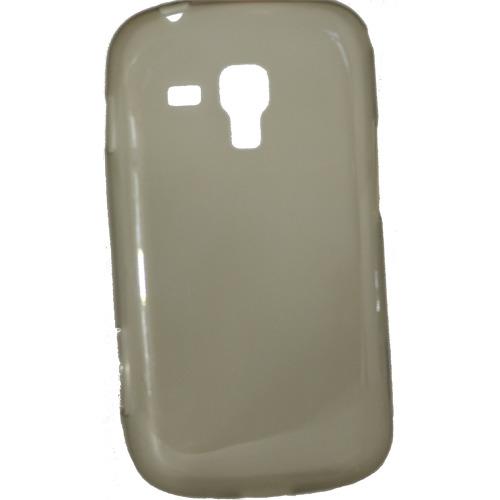 Накладка силиконовая Ultra slim Samsung S7562 Galaxy S Duos Glossy Black