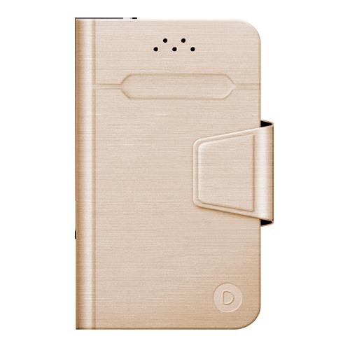 """Чехол - книжка Deppa Wallet Fold M универсальный (4.3""""-5.5"""") Gold"""