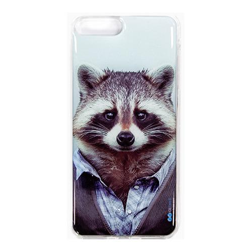 Накладка силиконовая IceTwice iPhone 7 Plus Енот №986