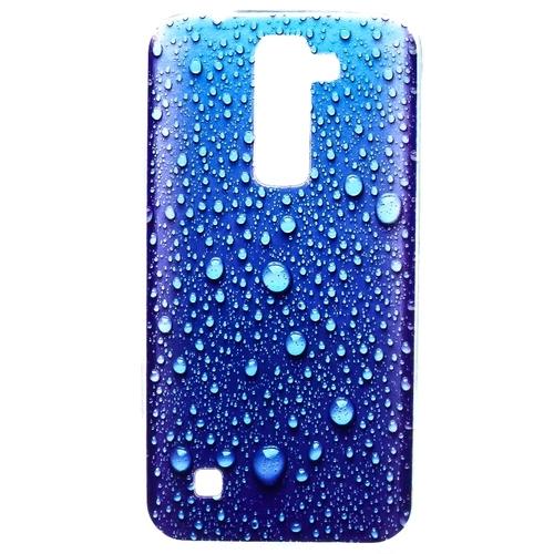 Накладка силиконовая Goodcase LG K7 Капельки воды