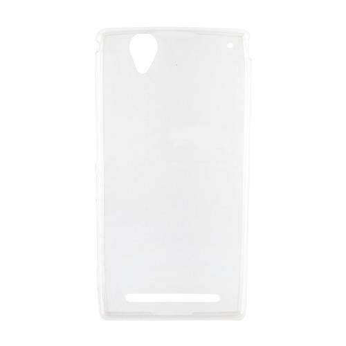 Накладка силиконовая Goodcom Ultra slim Sony Xperia T3 White