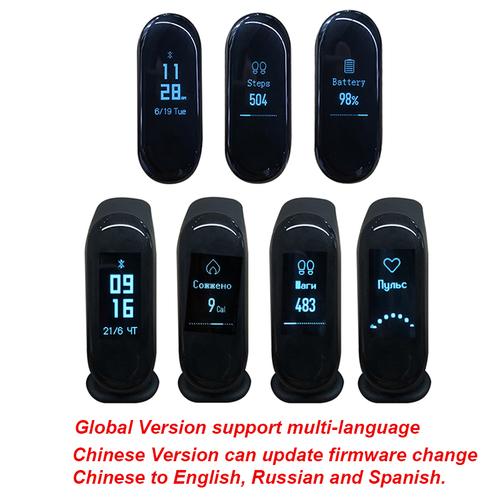 Умные часы Xiaomi Mi Band 3 Black фото 3