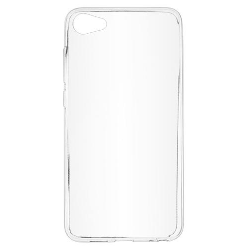 Накладка силиконовая skinBox slim Meizu U10 Clear