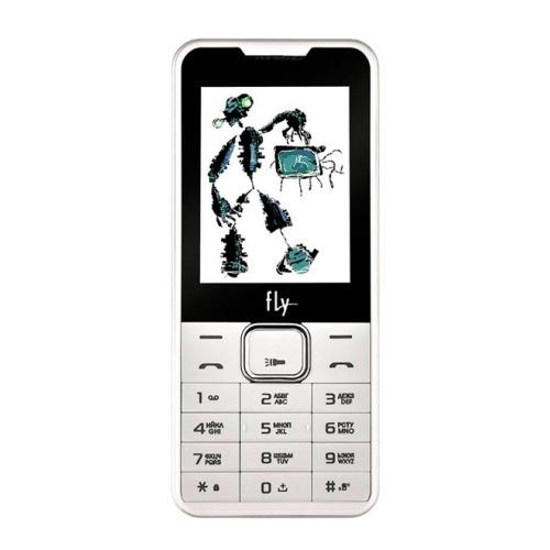 Телефон Fly FF243 White