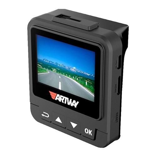 Видеорегистратор Artway AV-710 GPS с Радар-детектором SpeedCam, Black фото 2