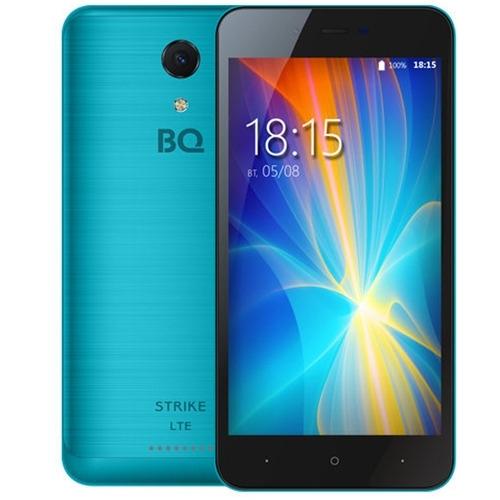 Телефон BQ BQS-5044 Strike LTE Blue Brushed