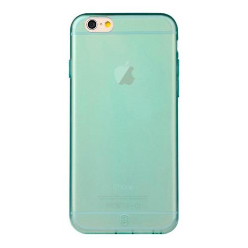 Накладка силиконовая Baseus iPhone 6 Simple Blue