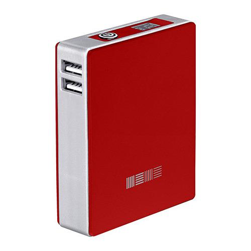 Внешний аккумулятор InterStep PB78002U 7800 mAh Red