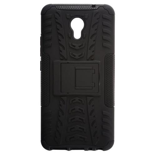 Накладка пластиковая skinBox Defender Meizu M5 Note Black