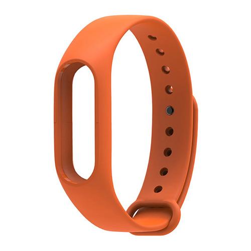 Ремешок для фитнес-браслета Xiaomi Mi Band 2 Orange