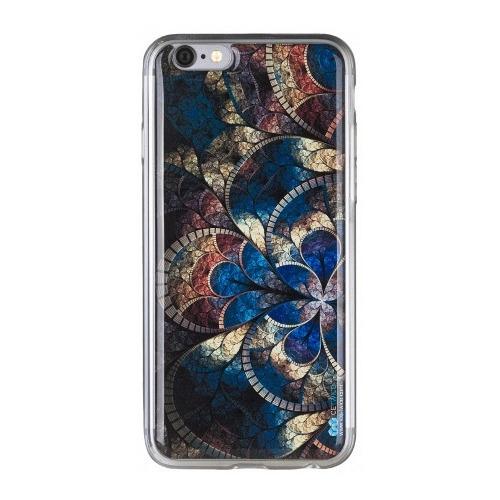 Накладка силиконовая IceTwice iPhone 6/6S Мозаика №637