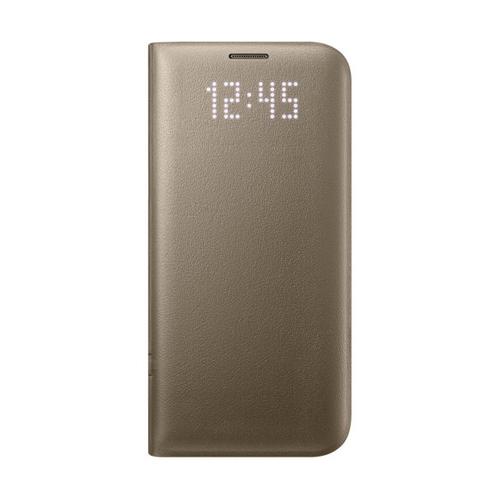 Чехол-книжка Samsung LED View Cover Galaxy S7 Edge (EF-NG935PFEGRU) Gold