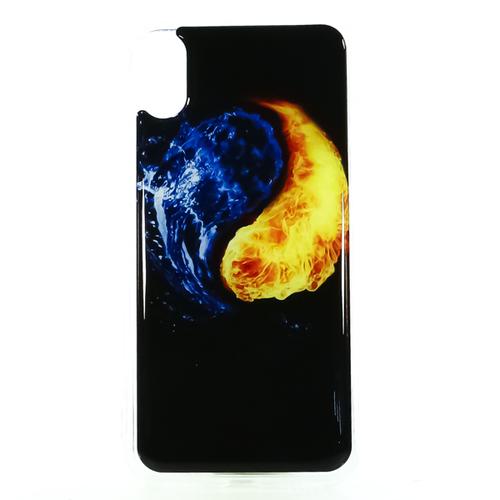 Накладка силиконовая IceTwice iPhone X Инь/янь №1194