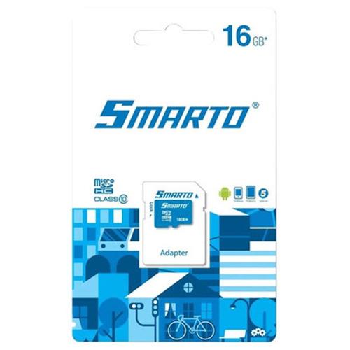 Карта памяти на 16 Гб Smarto microSD (class 10)