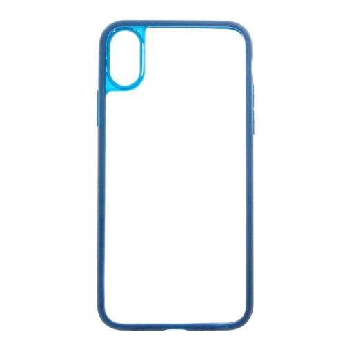 Накладка силиконовая Goodcom Frame Iphone X Dark Blue