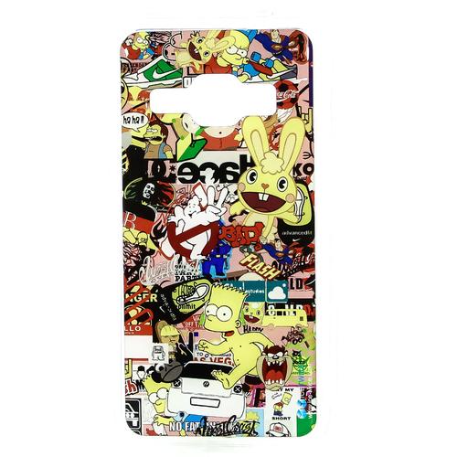 Накладка силиконовая IceTwice Samsung Galaxy J1 (2016) StickerBomb №830