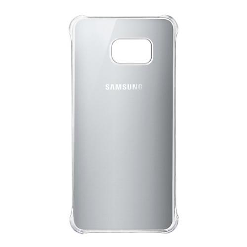 Накладка пластиковая Samsung Clear Galaxy S6 Edge+ EF-QG928MSEGRU Silver