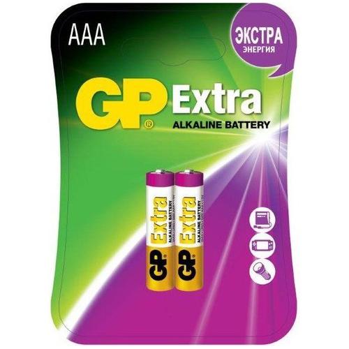Батарея GP Extra AAA (блистер 2шт.) фото