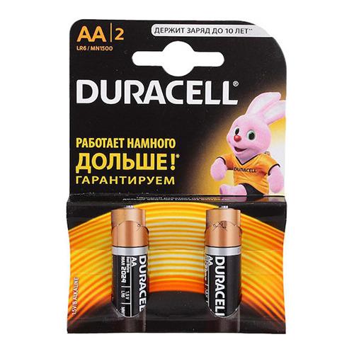 Батарейки Duracell LR6 AA (блистер 2шт.)