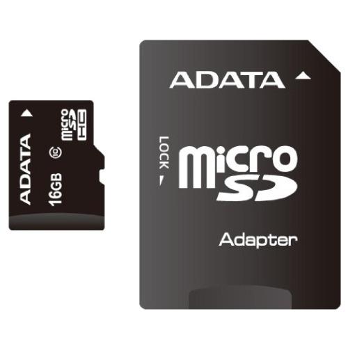 Карта памяти на 16 Гб ADATA microSD